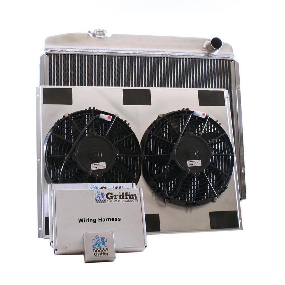 Griffin Radiator CU-00050 ComboUnit Radiator and Electric Fan Kit