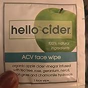 Amazon.com: Apple Cider Vinegar Acne Treatment Face Wipes