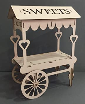 Generic Displ - Soporte para Mesa de Mesa o Carrito de Mesa para celebración, Fiesta, Dulces y carritos, Soporte para exhibición y Tarjeta de Dulces de ...
