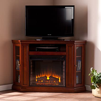 amazon com convertible electric fireplace with cabinet tv media rh amazon com Electric Fireplace TV Console Chatsworth Electric Fireplace Media Console
