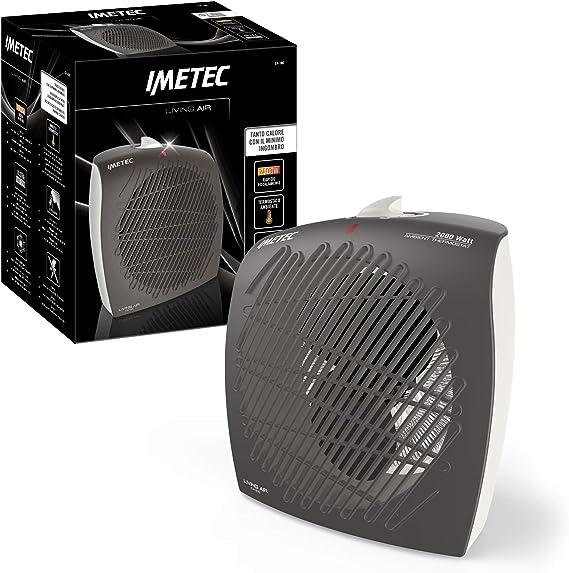 Imetec LIVING AIR C4-100 ScaldaBagno Termoventilatore 2200 Watt Bianco//Grigio