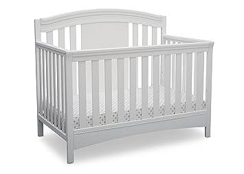 Delta Children Ellie 4 In 1 Convertible Crib Bianca White Amazon