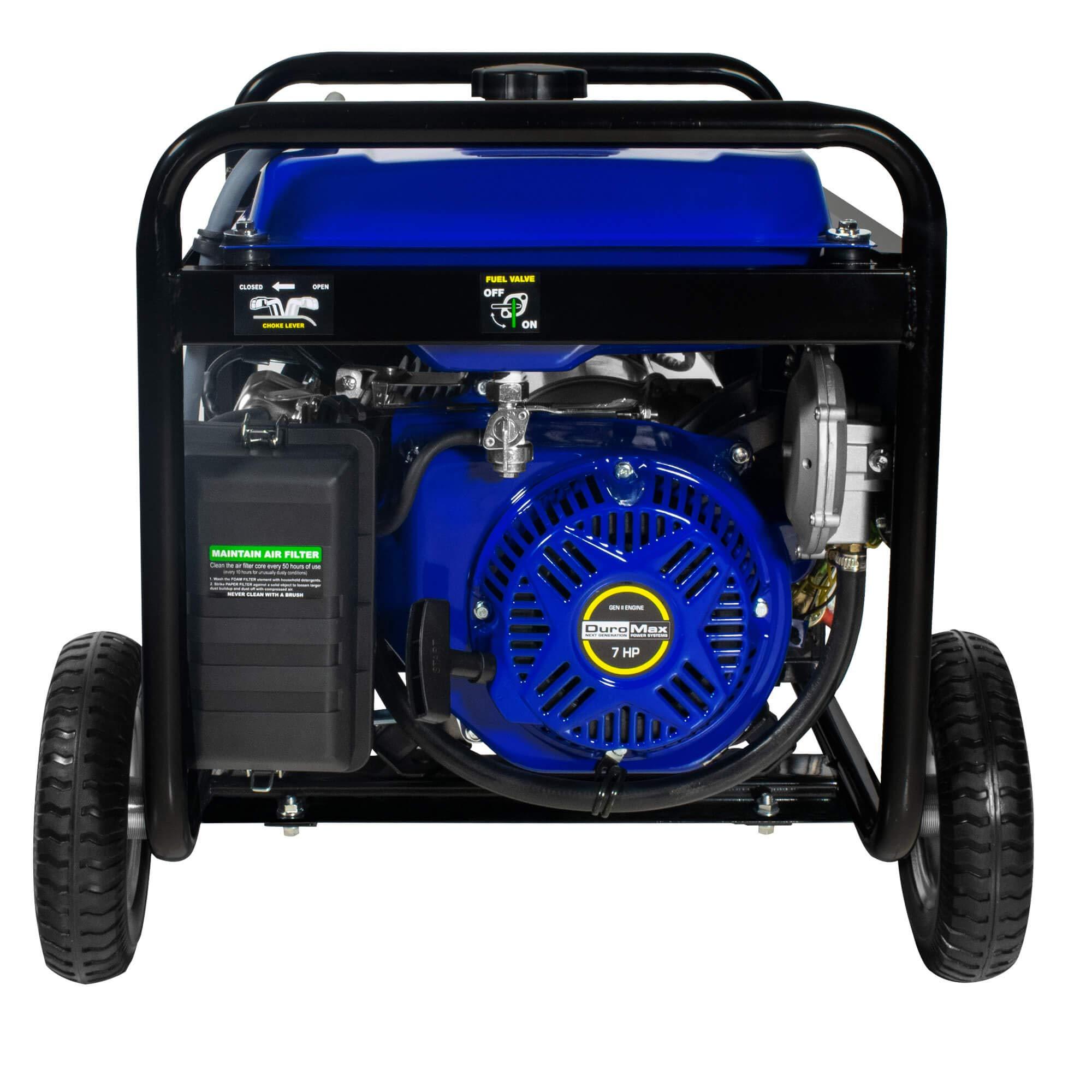 DuroMax Hybrid Dual Fuel XP4400EH 4,400-Watt Portable Generator by DuroMax (Image #6)