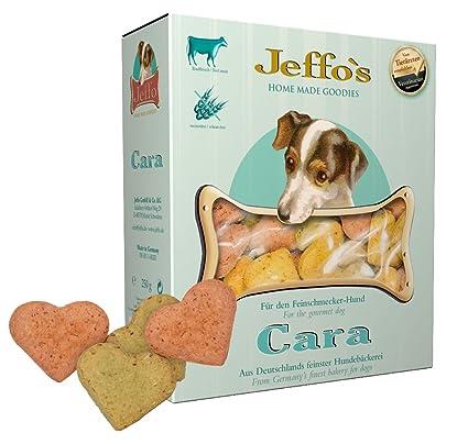 Jeffo Cara weizenfreie hundekekse con Carne de Vacuno (2 x ...