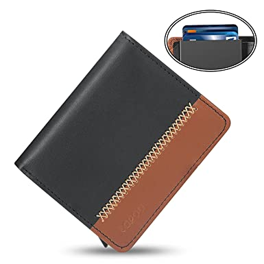 Lopoo automatic pop up card holder rfid blocking leather wallet lopoo automatic pop up card holder rfid blocking leather wallet business card wallet credit card reheart Choice Image