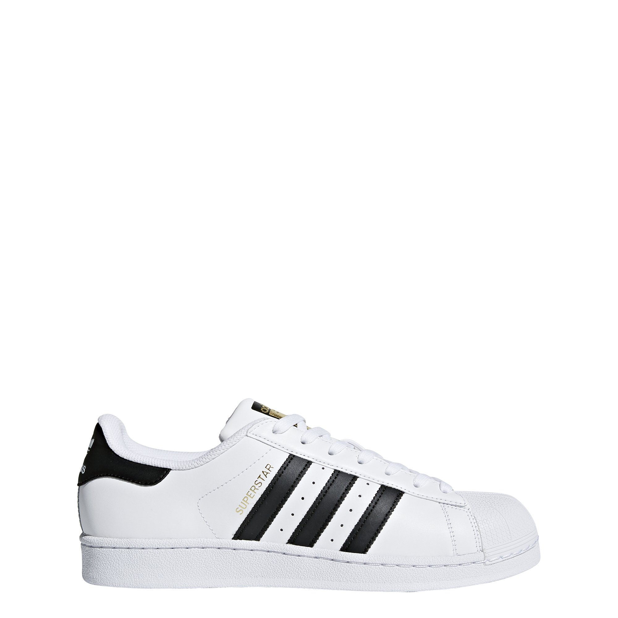 adidas Originals Men's Superstar Shoes White/Core Black/White 9.5 D(M) US by adidas Originals