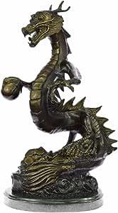 Hecho a mano Escultura de bronce europea firmado Canova