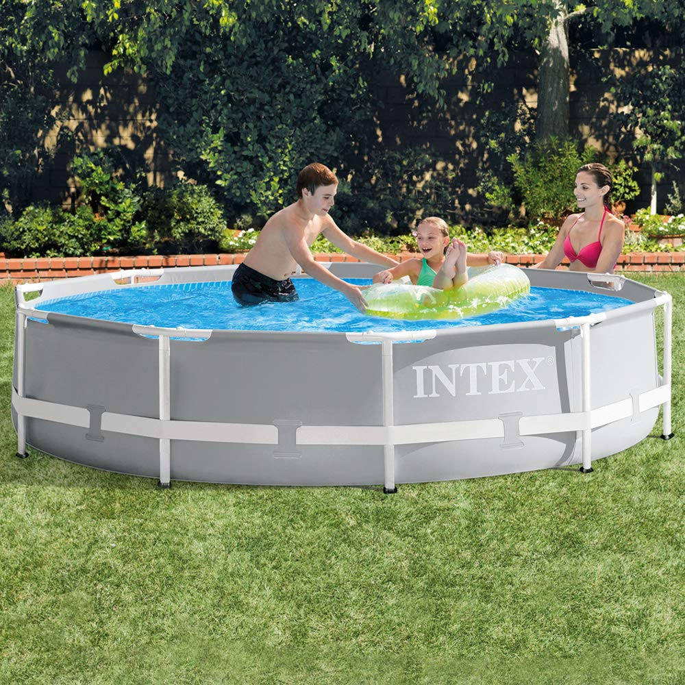 Intex 26702NP - Piscina desmontable redonda Prisma Frame 305 x 76 cm, con depuradora: Amazon.es: Jardín