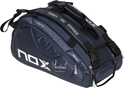 Amazon.com : NOX Pro Series Racket Bag, Sports Racquet, Navy ...