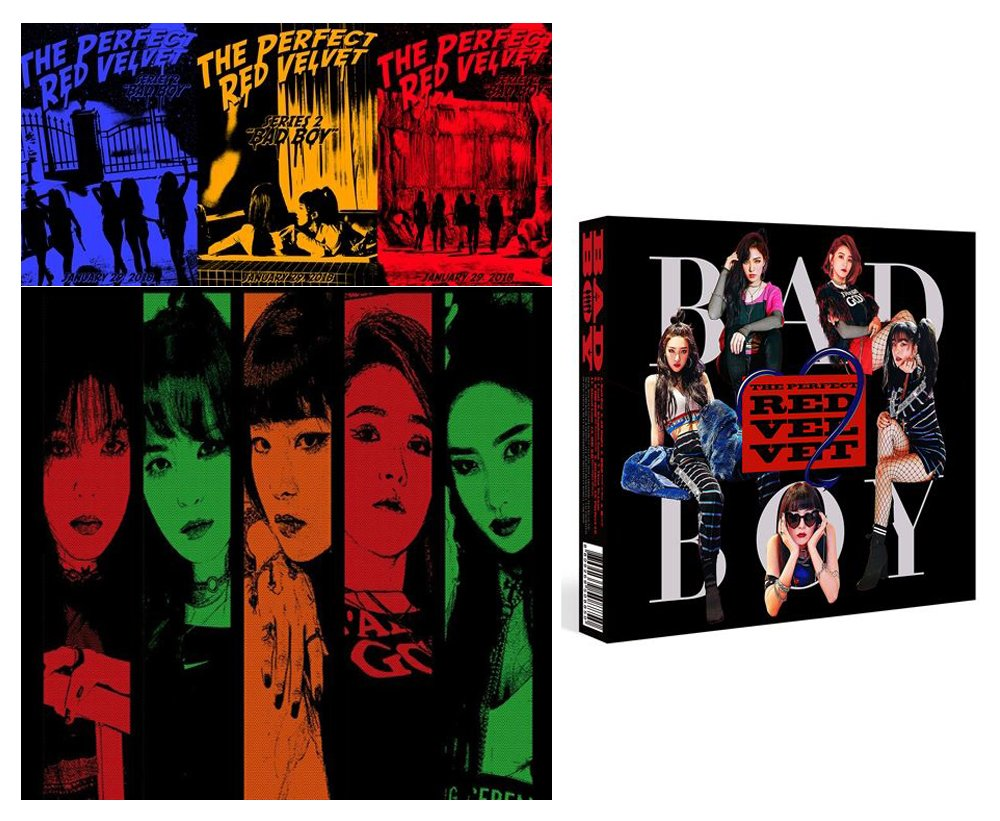RED VELVET The [Perfect Red Velvet] 2nd Repackage Album CD + Photo Book + Photo Card by SM Entertainment
