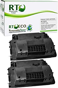 Renewable Toner Compatible High Yield Toner Cartridge Replacement for HP 81X CF281X Laserjet M605 M606 M630 MFP M630 MFP (Black, 2-Pack)