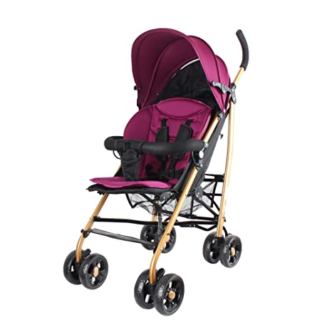 Buy Abdc Kids Extra Light European Style Cushion Seat Pram Stroller Pink Online At Low Prices In India