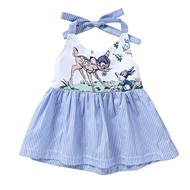 90321f2d2bc97 Amazon.com: JOY DRAGON 2018 Summer Fashion Cute Newborn Baby Girl ...