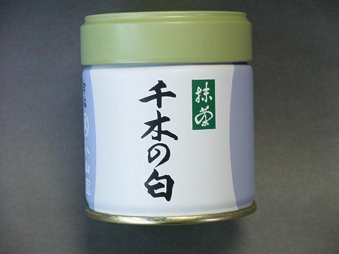 薄茶に千木の白(ちぎのしろ)40g缶:丸久小山園の抹茶