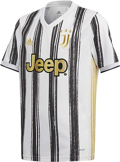 adidas Juve H JSY Y - Camiseta 1ª Equipación Juventus FC 2015/2016 Niños: MainApps: Amazon.es: Deportes y aire libre