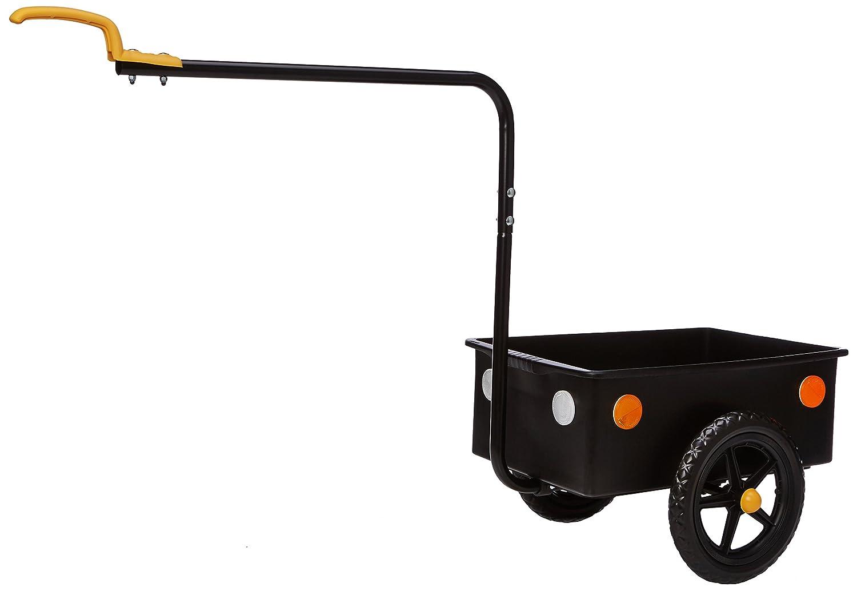 Bellelli 63001 – Fahrrad-Anhänger, Schwarz