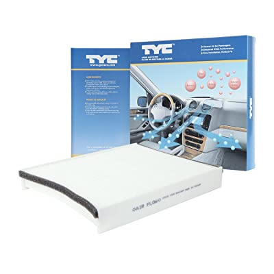 TYC 800183P Compatible with Ford Replacement Cabin Air Filter: Automotive
