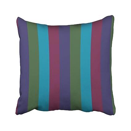 Amazon Emvency Throw Pillow Case Dec Christmassy Colorful Stunning Jewel Tone Decorative Pillows