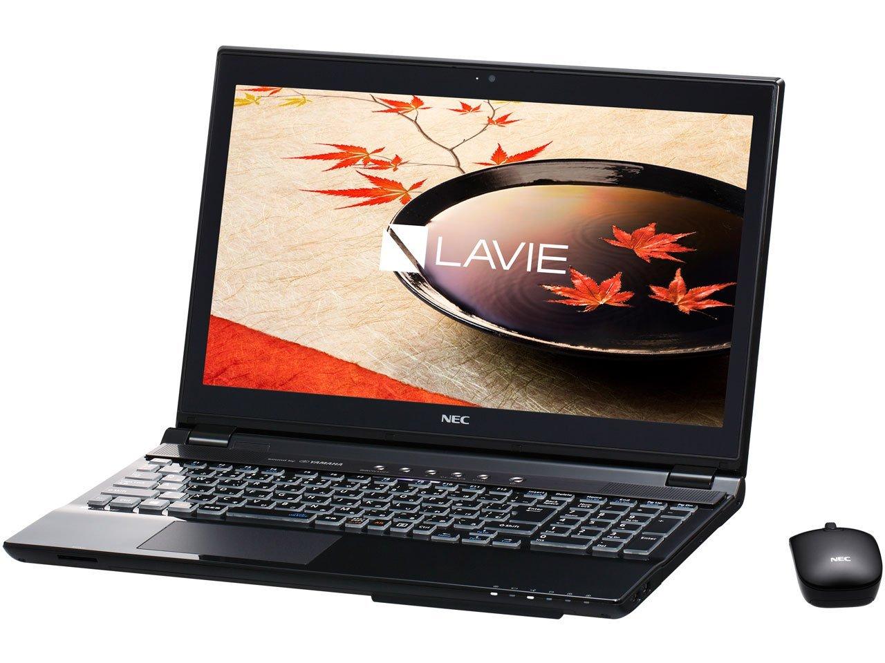 日本電気 LAVIE Note Standard - NS750/CAB クリスタルブラック PC-NS750CAB   B0159VSRI6