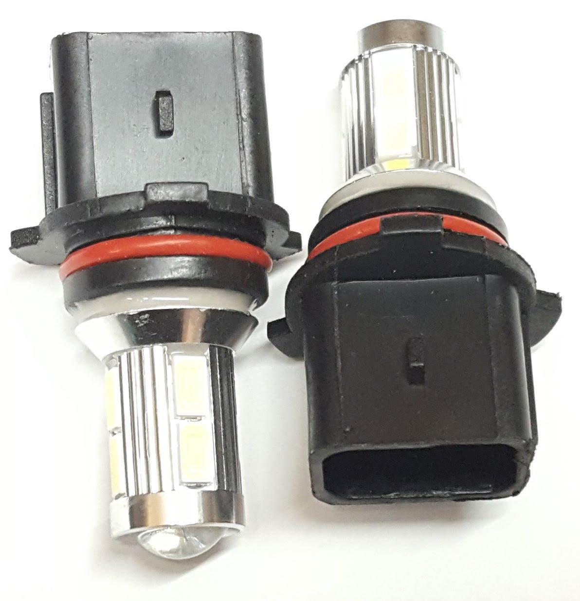 9SMD Luci diurne a LED lampadine Canbus CREE DRL P13 W bianco EB3R1 MCK Auto