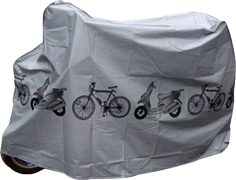 Cubrebicicleta Cubre Bicicleta y Moto Loneta Impermeable Polvo y Humedad 4101 ONOGAL