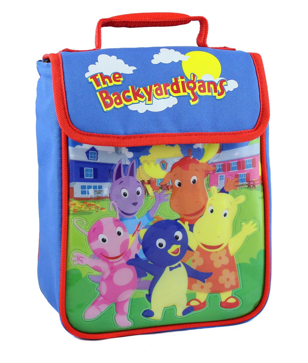 amazon com nickelodeon the backyardigans lunch bag lunch boxes