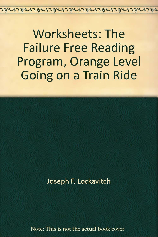 Worksheets: The Failure Free Reading Program, Orange Level