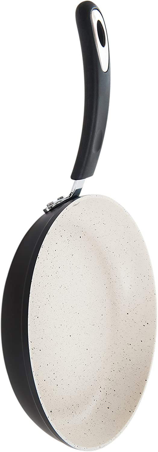 Warm Alabaster Ozeri ZP18-26 10 Stone Earth Frying Pan 100/% APEO /& PFOA-Free Stone-Derived Non-Stick Coating from Germany