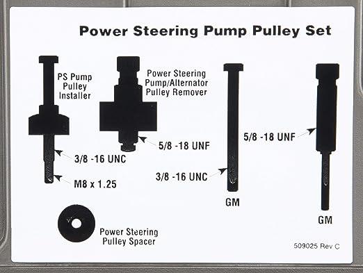 Otc Tools 4530 Pumpe Servolenkung Pulley Service Set Auto