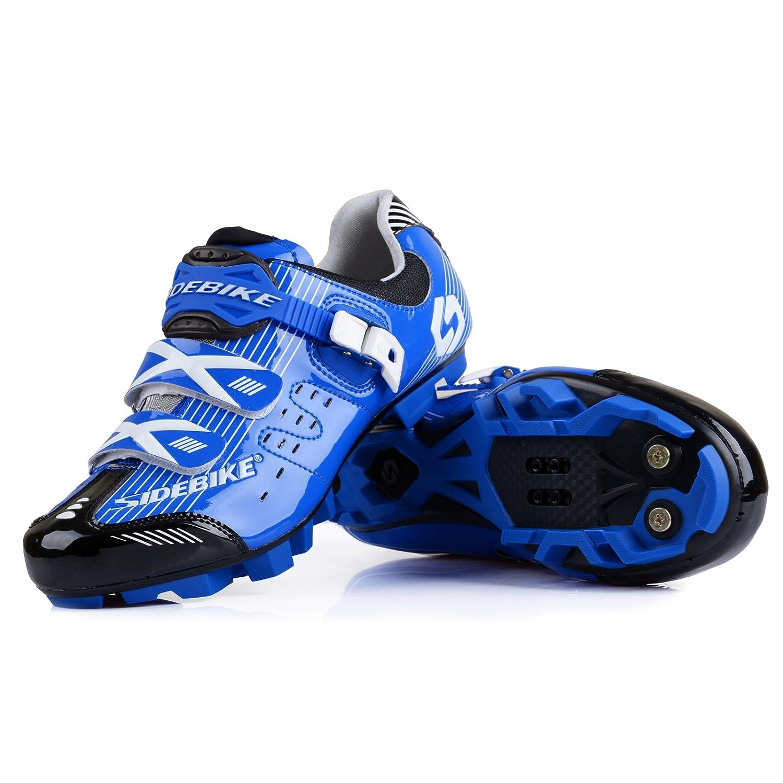 MTB-bluee Black Smartodoors Road Cycling shoes Professional Racing Cycling shoes Riding Bike Sport shoes Men Women