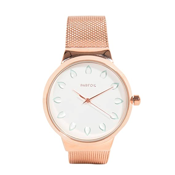 Parfois - Reloj Rose Gold Tray - Mujeres - Tallas Única - Dorado: Amazon.es: Relojes
