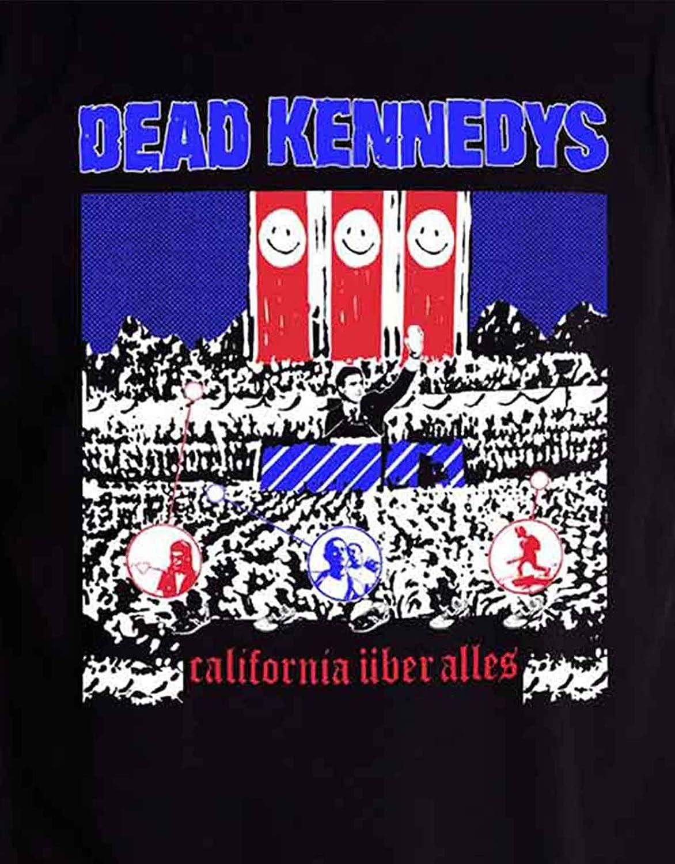 Dead Kennedys California Uber Alles Ufficiale Uomo Nuovo Nero T Shirt