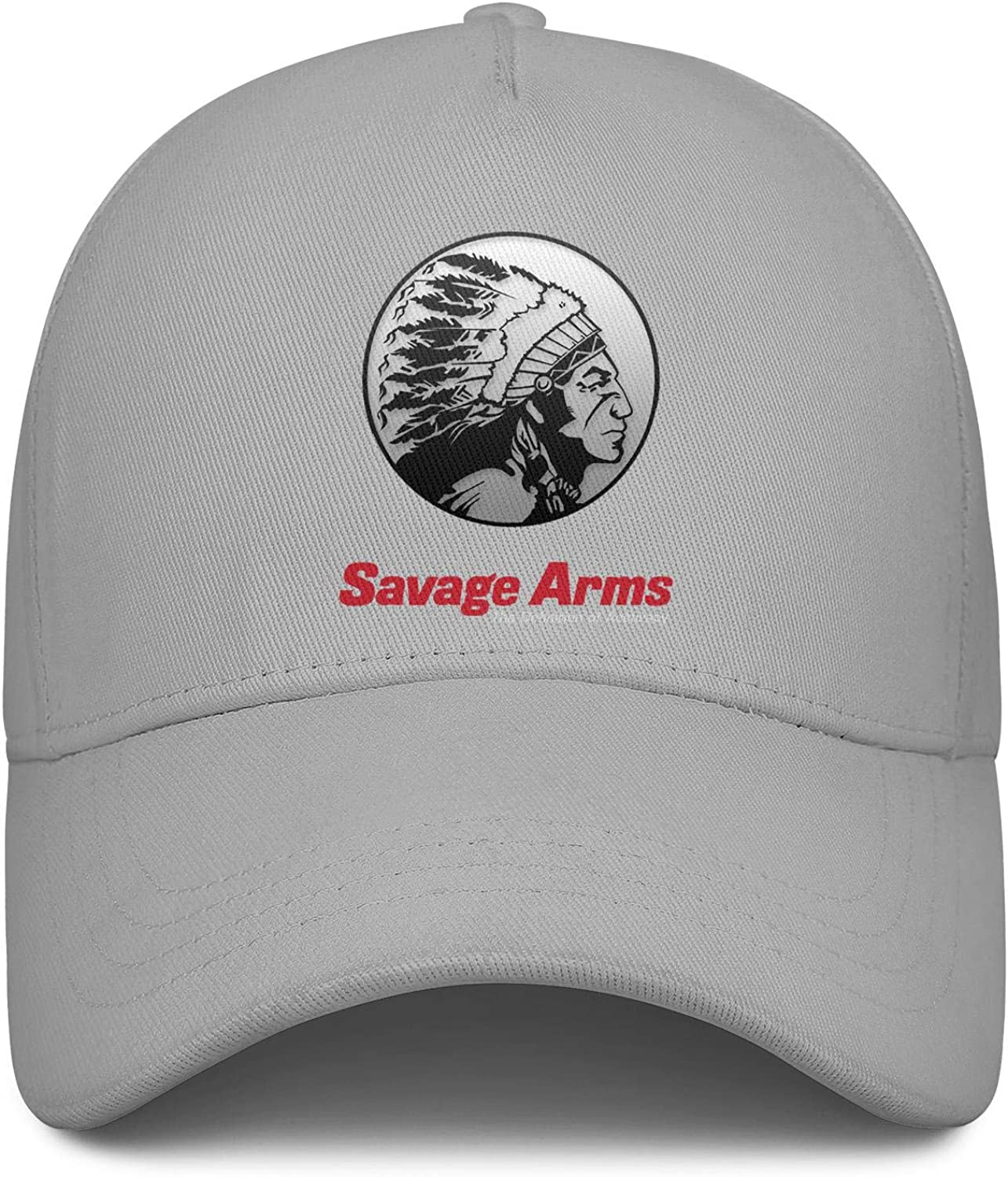 Hat for Mens Womens Dad Hat Adjustable Outdoor Shooting Hat Dance Hat Cap Heart Wolf Savage-arms-Logo
