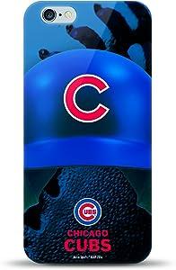 MIZCO SPORTS Helmet Case for iPhone 6 Plus/6s Plus - MLB Chicago Cubs, MIZ-MLBHL6LCUBS