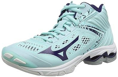 scarpe mizuno volley azzurre