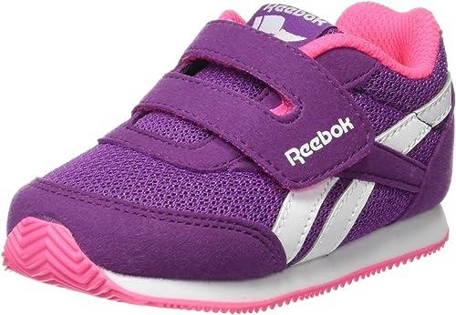 Reebok BD5435, Zapatillas de Running para Niñas, color morado (aubergine/solar pink/white), talla 23.5 EU (6.5 UK): Amazon.es: Zapatos y complementos