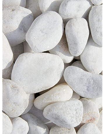 Cottoceram Malla Piedra Blanca 5005 de 30x30cm Muy Decorativa para Jardines o Caminos ajardinados. Ideal para Pasos Que se mojen o Pueden resbalar