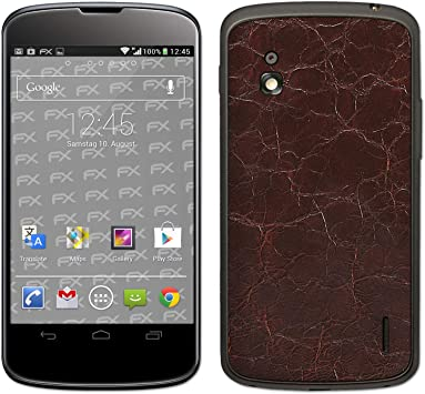 atFoliX - Adhesivo para Google Nexus 4 (LG), diseño de estructura ...