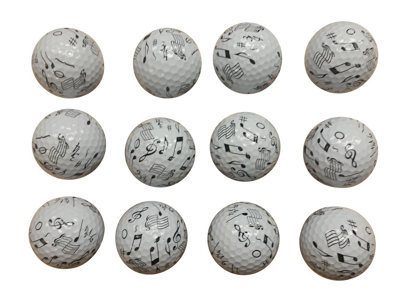 音楽のゴルフボール( 12パック) B010MG8MNS