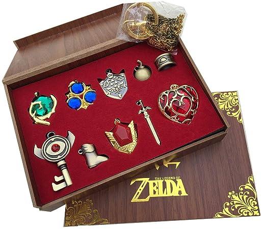Mesky The Legend of Zelda Llaveros 10 Piezas con Caja ...