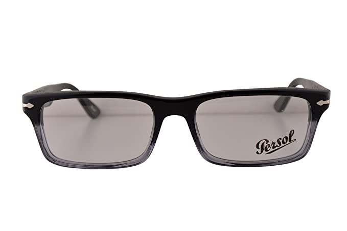 fdd6d2509f802 Image Unavailable. Image not available for. Colour  Persol PO3050V  Eyeglasses 53-18-140 Black Gradient 966 ...