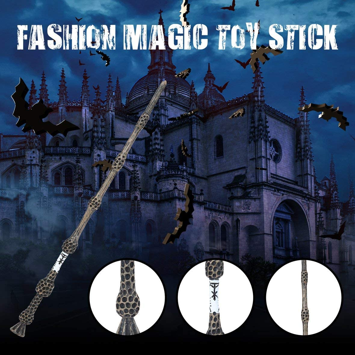 Cool Metal Core Magic Stick Cosplay para Lord Voldemort ...