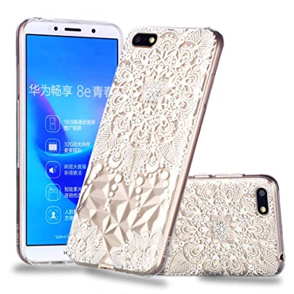 online retailer 95991 67cad Amazon.com: Find box Huawei Y5 2018 Case, Colorful Painted Flexible ...