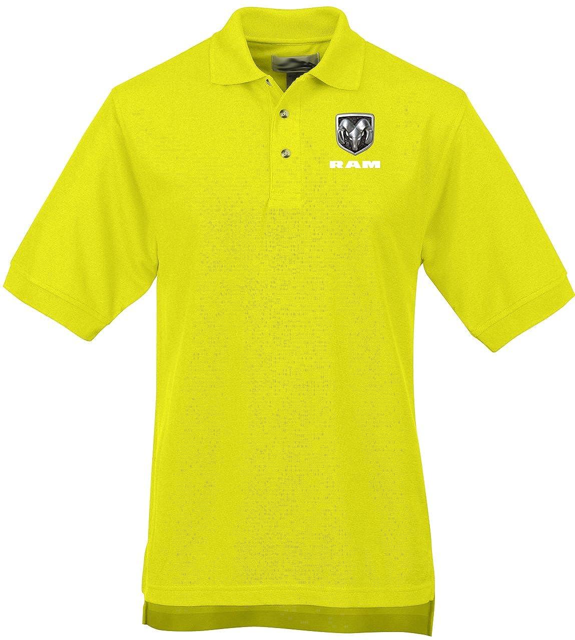 Amazon Buy Cool Shirts Mens Dodge Ram Logo High Visibility Polo