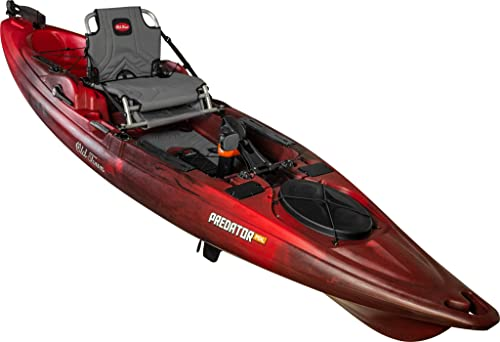 Old Town Canoes Kayaks Predator Pedal Fishing Kayak with Rudder
