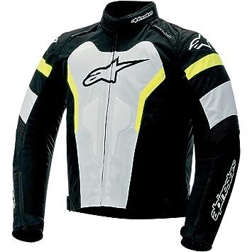 Alpinestars T-GP PRO chaqueta - negro/blanco/amarillo ...