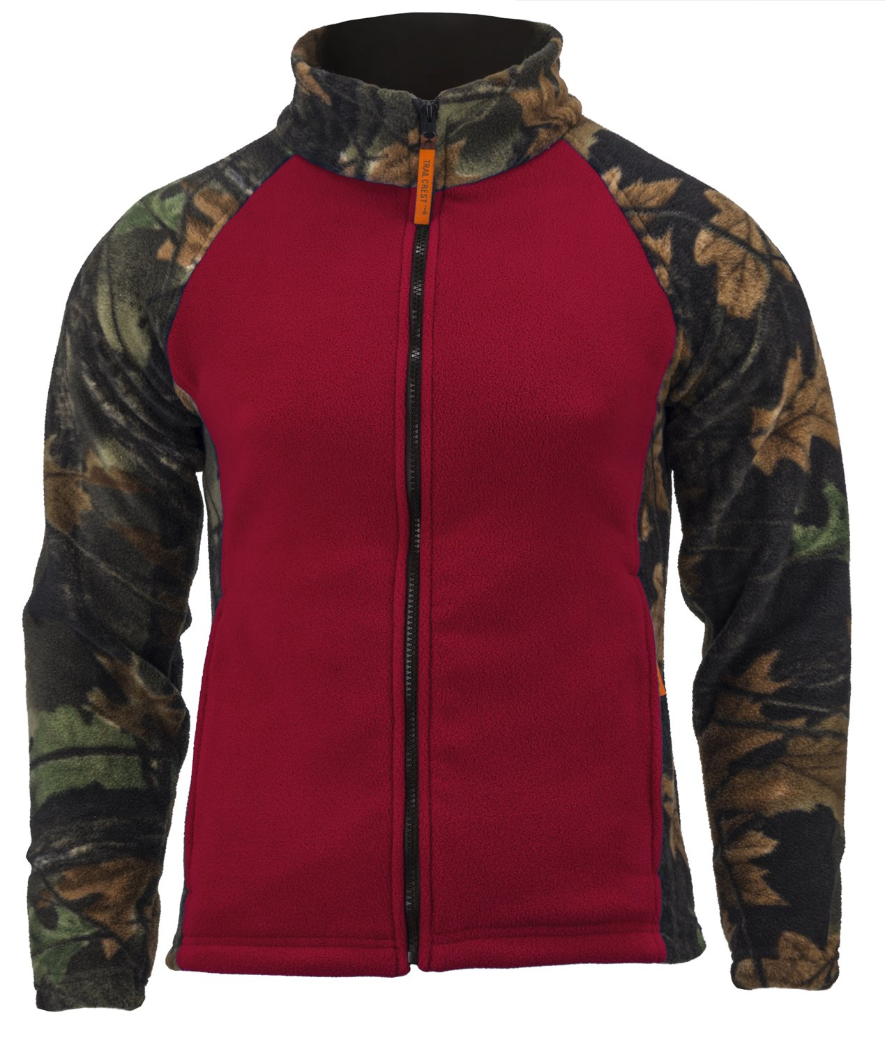 Trailcrest Women's Camo Chambliss Semi Fitted Jacket, Burgundy, Large