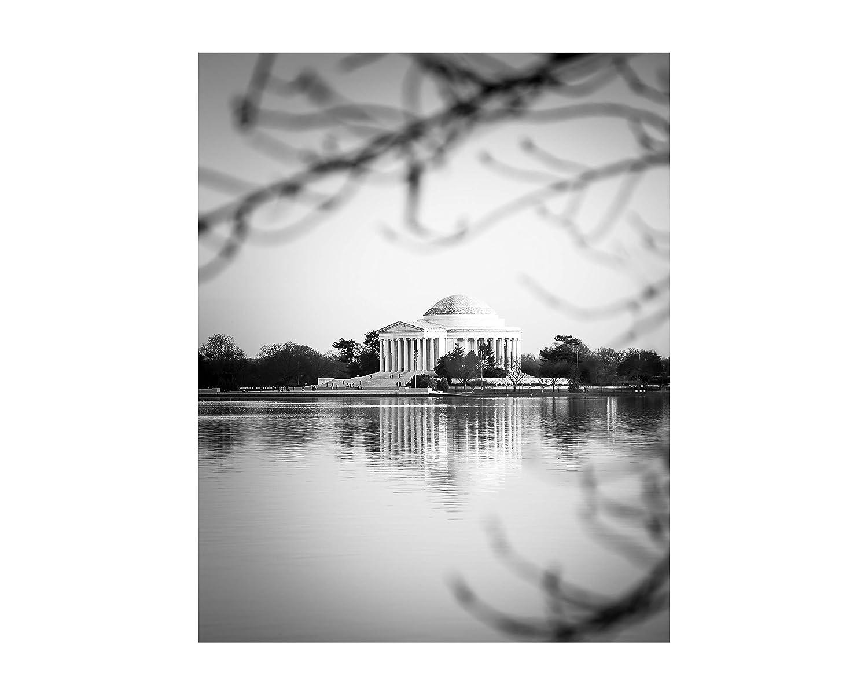 Washington DC Photography Black and White Washington DC Art Lafayette Square Canvas Print Custom Order Paper Print