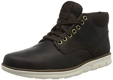 Timberland Herren Bradstreet Leather Sensorflex Chukka Boots, Braun (Dark Brown Full Grain), 43 EU