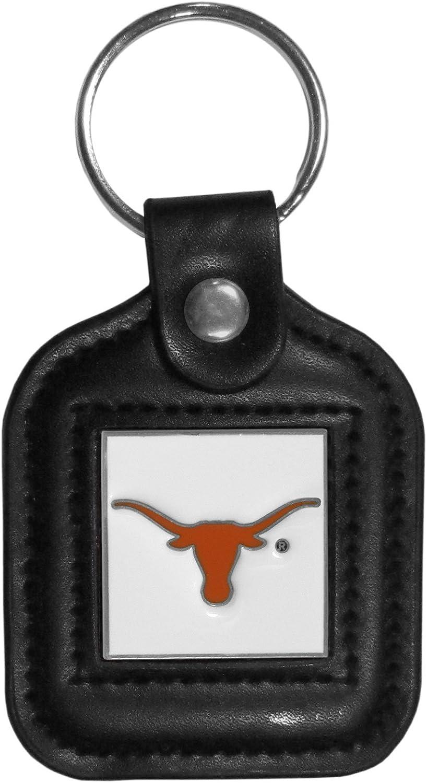 Siskiyou NCAA Fan Shop Square Leather Key Chain